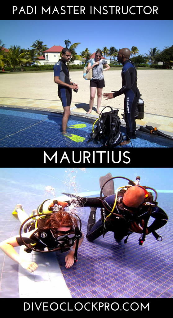 PADI Dive Instructor Course - Bel Ombre, Mauritius