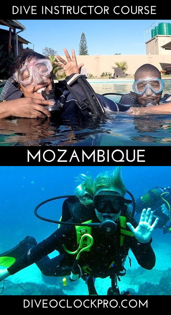 PADI Instructor Development Course - Ponta do Ouro - Mozambique