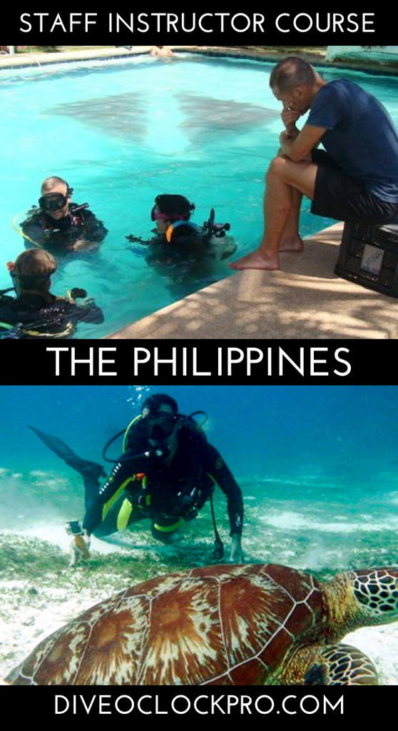PADI Dive Instructor Course - Alona Beach, Panglao, Bohol, Philippines