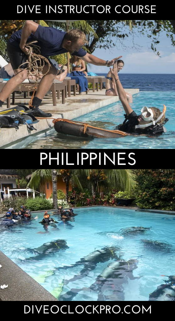 PADI Dive Instructor Course - Dauin, Philippines