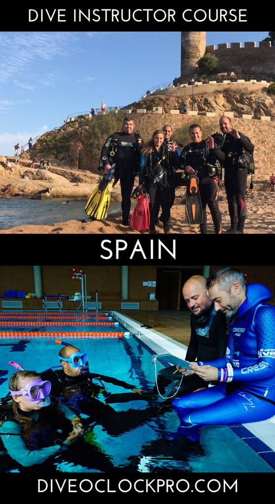 PADI Instructor course with accommodation - Tossa de Mar - Spain