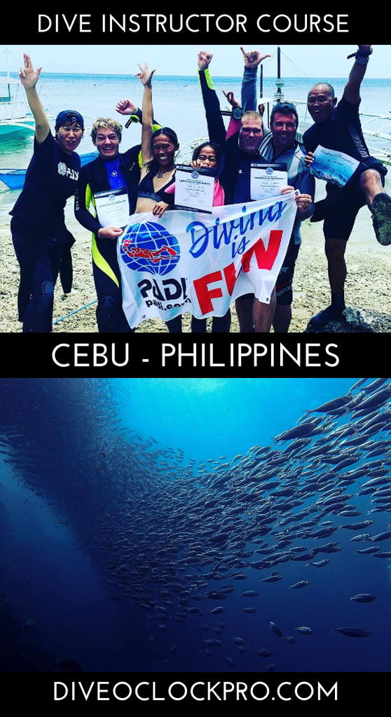 PADI Instructor Course IDC Basic - Moalboal, Cebu - Philippines
