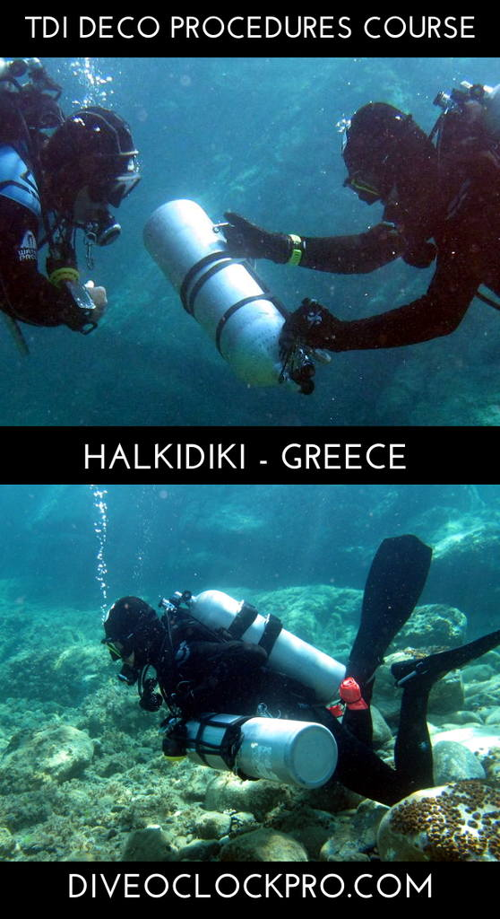 TDI Deco Procedures - Halkidiki Kasandra-Pefkohori - Greece
