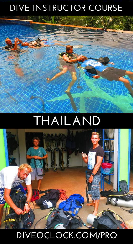 PADI Dive Instructor Course - Ko Lanta District, Thailand
