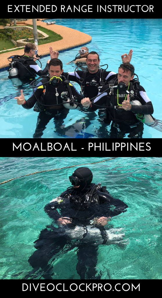 SSI Extended Range Instructor Courses - Moalboal - Philippines
