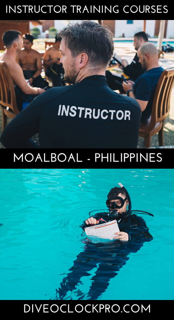 SSI Instructor Training Courses - Moalboal - Philippines