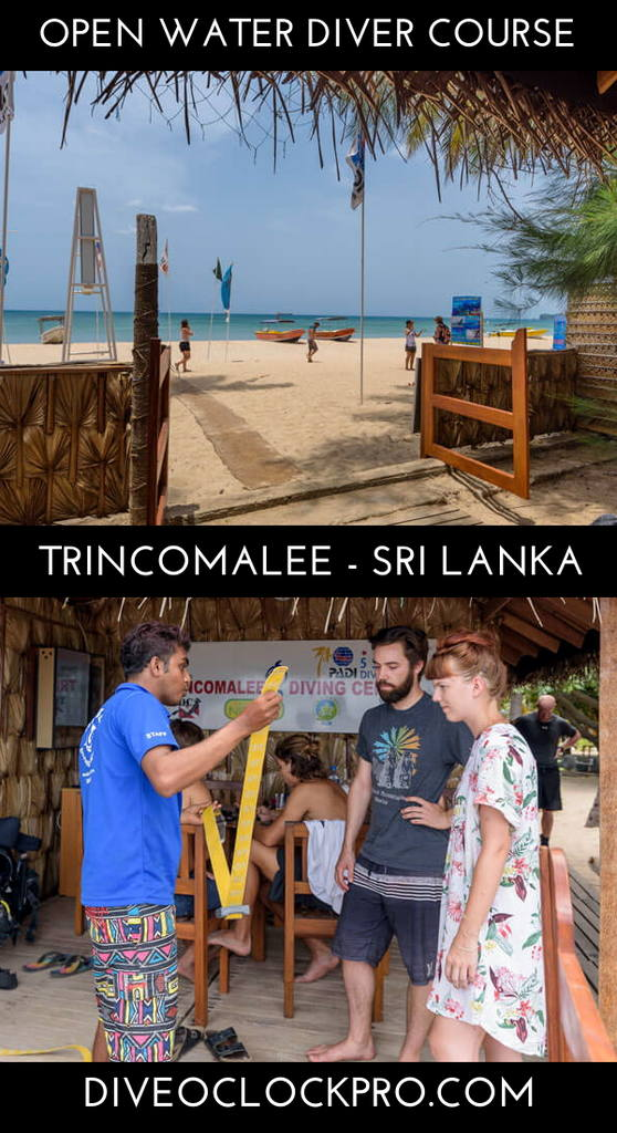 PADI Open Water Course - Trincomalee - Sri Lanka