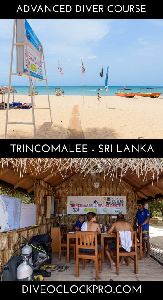 PADI Advanced Open Water Course - Trincomalee - Sri Lanka