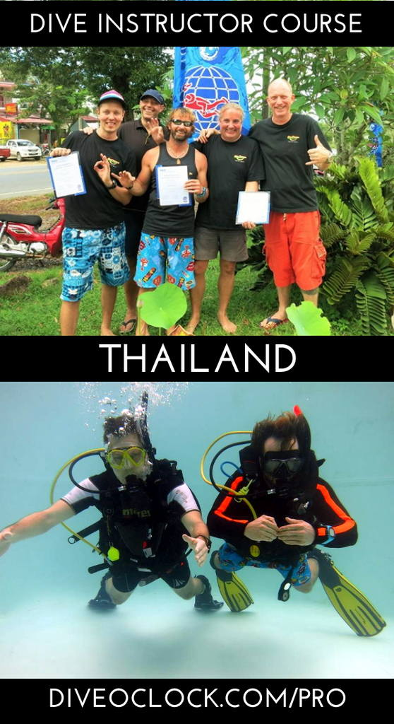 PADI Dive Instructor Course - Khao Lak, Thailand
