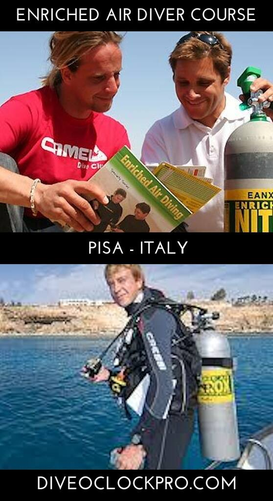 PADI Enriched Air Diver - Province of Pisa - Italy