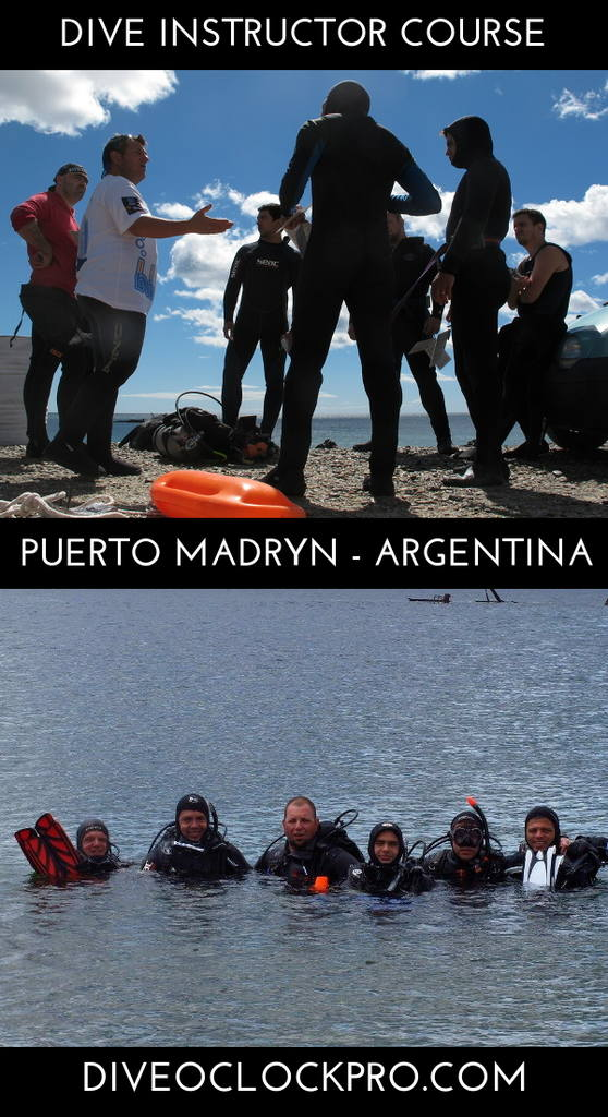 Instructor Course PADI IDC at Patagonia - Puerto Madryn - Argentina