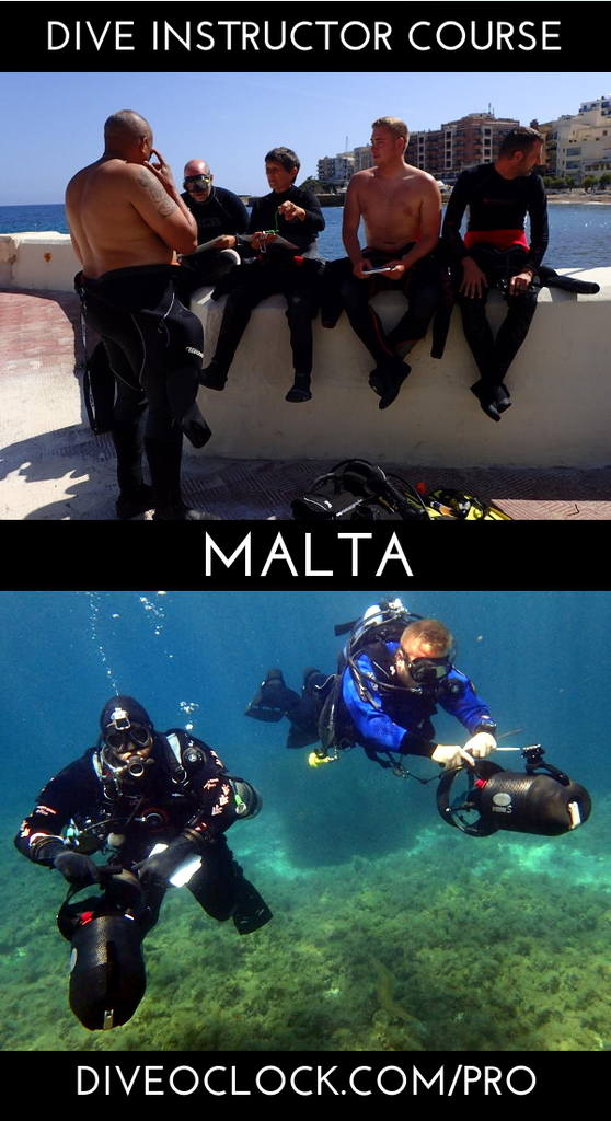 PADI Dive Instructor Course - Gozo, Malta