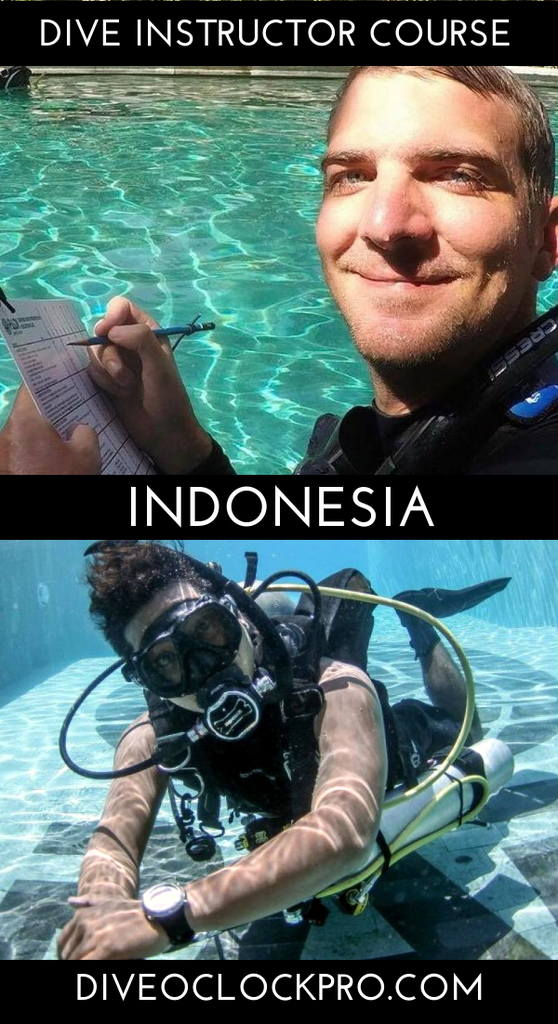 PADI Dive Instructor Course - Sanur, Bali, Indonesia
