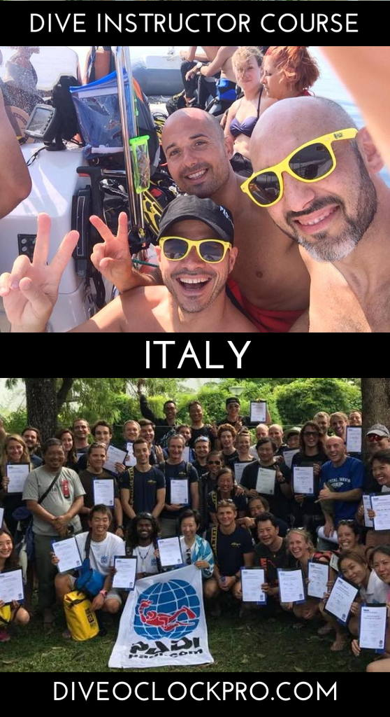 Instructor Course PADI IDC - Bronze - PORTO CESAREO - Protected Marine Area - Italy