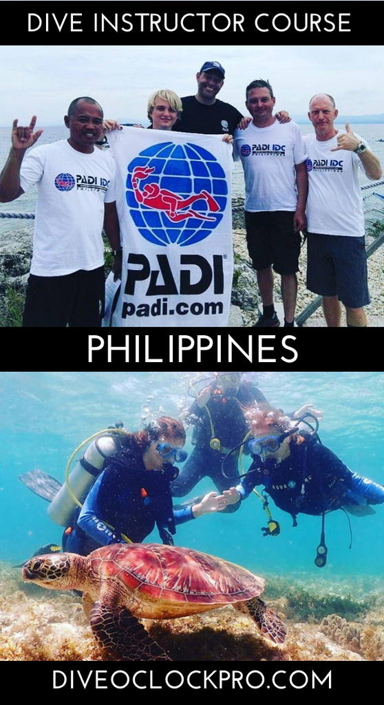 Instructor Course PADI IDC Deluxe  - Moalboal - Philippines