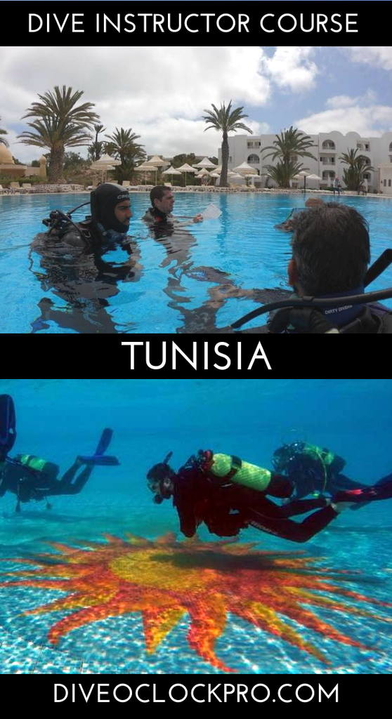 PADI Dive Instructor Course - Djerba Midoun, Tunisia