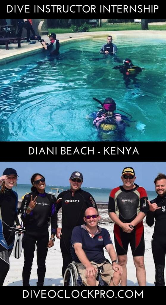 PADI Dive Instructor Course - Diani Beach, Kenya