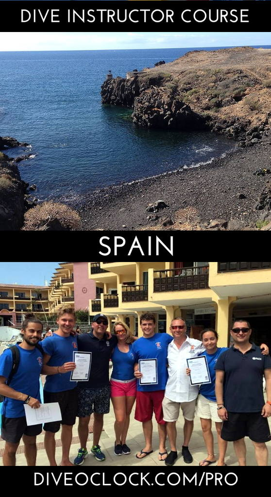 PADI Instructor Course Platinum - Playa de las Américas - Spain
