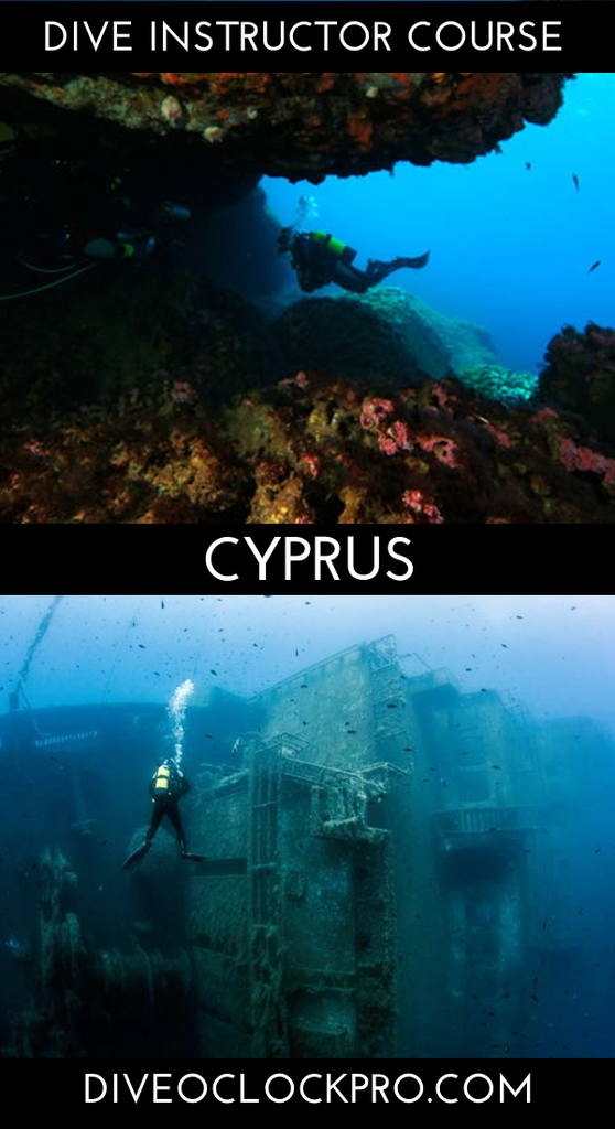 PADI Dive Instructor Course - Coral Bay, Paphos, Cyprus