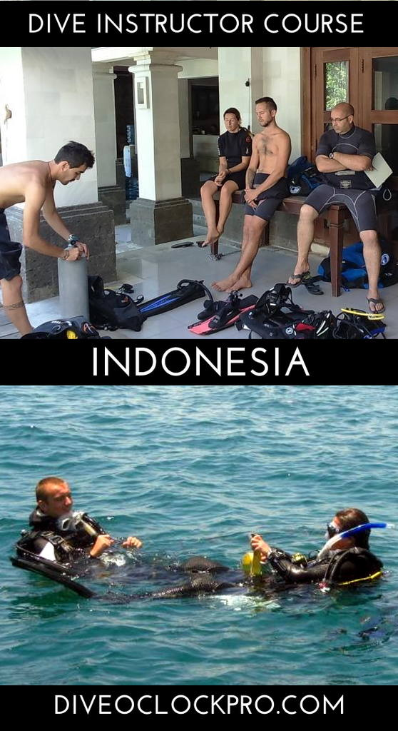 PADI Dive Instructor Course - Bali, Indonesia