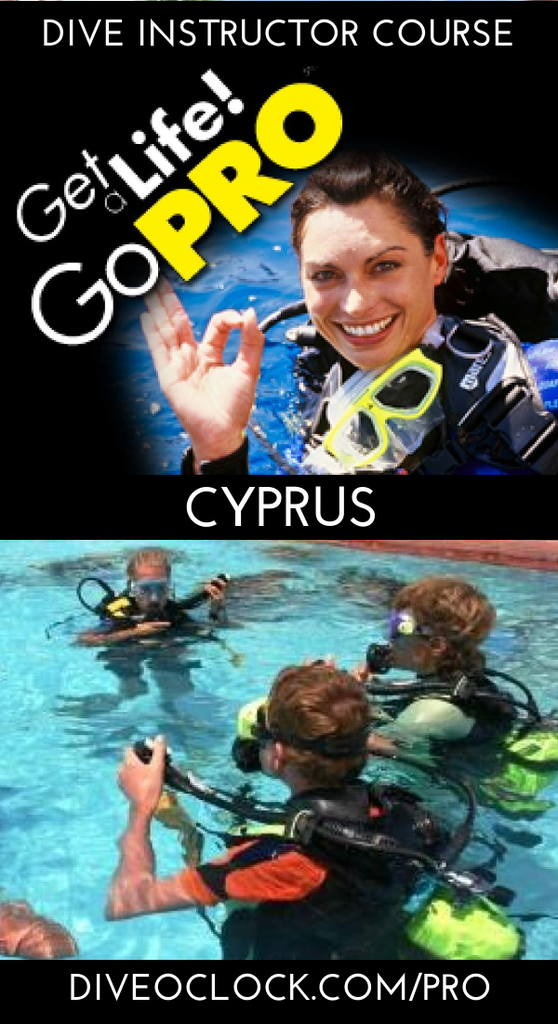 PADI Dive Instructor Course - Protaras, Cyprus