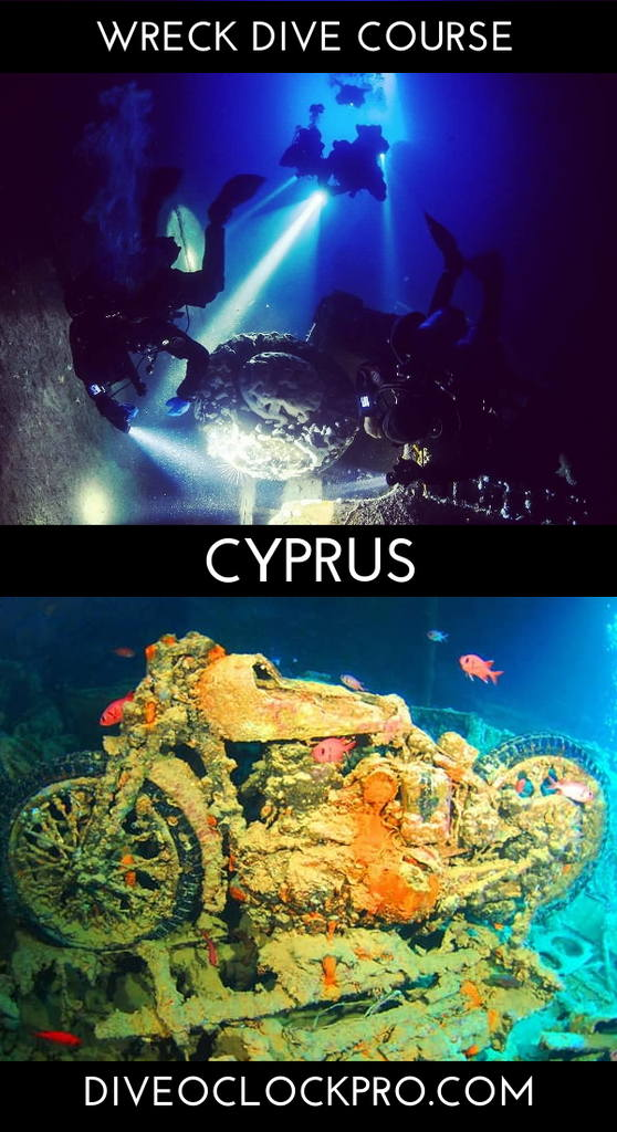 PADI WRECK, DEEP, NITROX OR ANY OTHER SPECIALITY COURSE - Larnaca - Cyprus