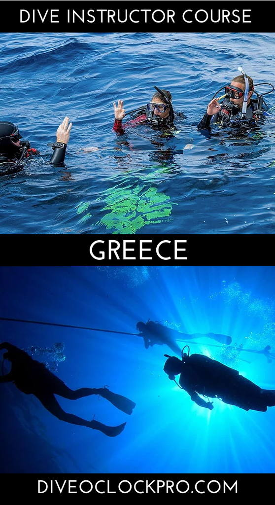 PADI Dive Instructor Course - Mithymna - Lesbos, Greece